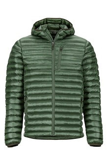 Men's Avant Featherless Hoody, Crocodile, medium