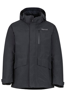 Men's Yorktown Featherless Jacket, Black, medium