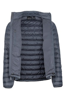 Men's Solus Featherless Jacket, Steel Onyx, medium