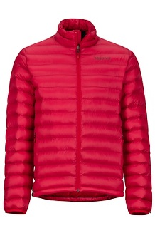 Men's Solus Featherless Jacket, Team Red, medium