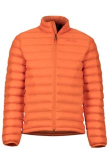 Solus Featherless Jacket, Mandarin Orange, medium