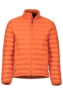 Men's Solus Featherless Jacket, Mandarin Orange, medium