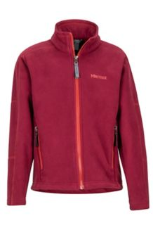Boy's Verglas Windproof Jacket, Madder Red, medium