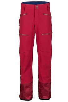 Men's Freerider Pants, Sienna Red, medium