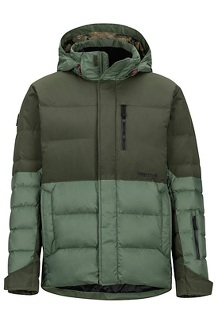 Men's Shadow Jacket, Crocodile/Rosin Green, medium