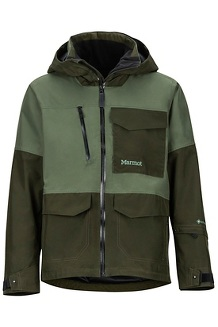 Men's Carson Jacket, Crocodile/Rosin Green, medium