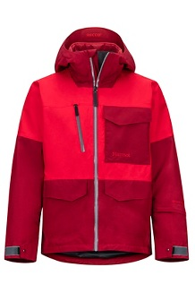 Men's Carson Jacket, Team Red/Brick, medium