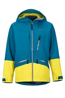 Men's Moment Jacket, Moroccan Blue/Citronelle, medium