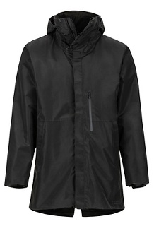 Men's Riverfront EVODry Parka, Black, medium