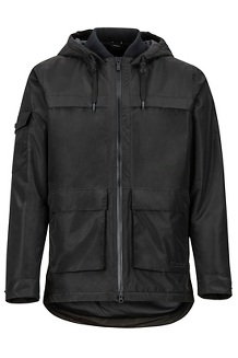 Men's Bennu EVODry Parka, Black, medium