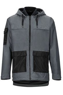 Men's Bennu EVODry Parka, Cinder/Black, medium
