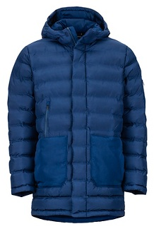 Men's Alassian Featherless Parka, Arctic Navy, medium