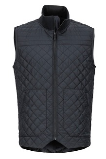 Men's 5 Boroughs Vest, Black, medium