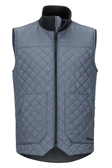 Men's 5 Boroughs Vest, Steel Onyx/Black, medium