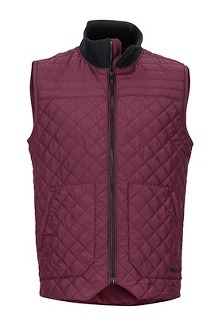 Men's 5 Boroughs Vest, Fig/Black, medium