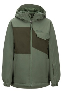 Boys' Rochester Jacket, Crocodile/Rosin Green, medium