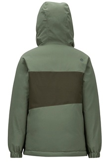 Kids' Rochester Jacket, Crocodile/Rosin Green, medium