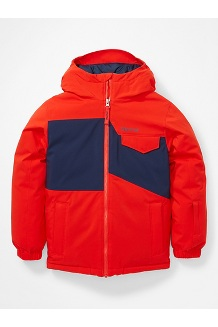 Kids' Rochester Jacket, Victory Red/Arctic Navy, medium