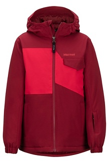 Boys' Rochester Jacket, Brick/Team Red, medium