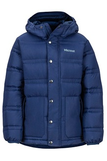 Boys' Ronan Down Jacket, Arctic Navy, medium