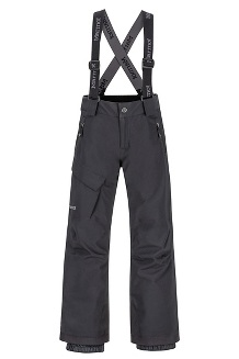 Boys' Edge Insulated Pants, Black, medium