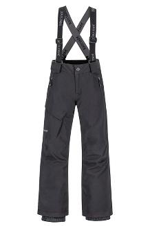 Boys' Edge Insulated Pants, Black, medium
