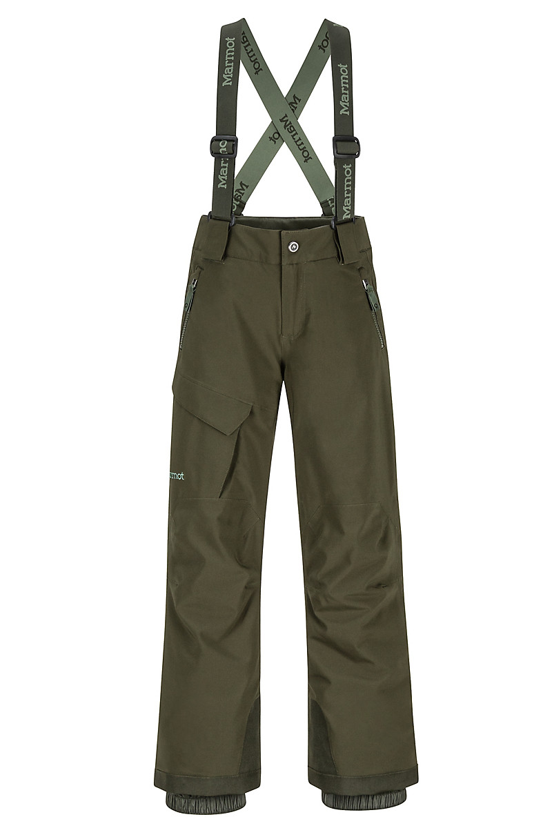 e592f467 Boys' Edge Insulated Pants, Rosin Green, large