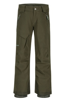 Boys' Edge Insulated Pants, Rosin Green, medium