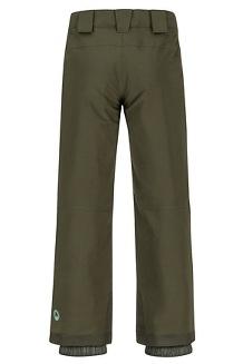 Boys' Edge Insulated Pants, Rosin Green, medium
