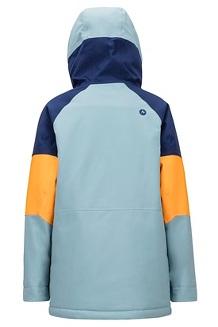 Boys' Gold Star Jacket, Blue Granite/Arctic Navy, medium