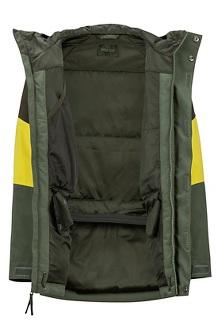 Boys' Gold Star Jacket, Crocodile/Rosin Green, medium
