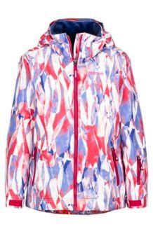 Girl's Big Sky Jacket, Bright Ruby Wisteria, medium