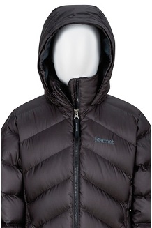 Girls' Montreaux Coat, True Black, medium