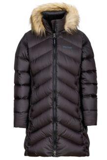 Girl's Montreaux Coat, True Black, medium