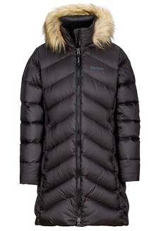 Girl's Montreaux Coat, True Black, medium