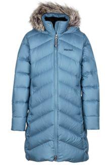 Girl's Montreaux Coat, Storm Cloud, medium
