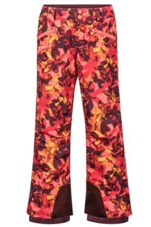Girl's Harmony Pant, Living Coral Floral Camo, medium