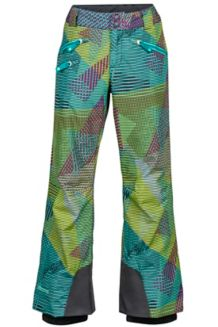 Girl's Harmony Pant, Waterfall Flash, medium