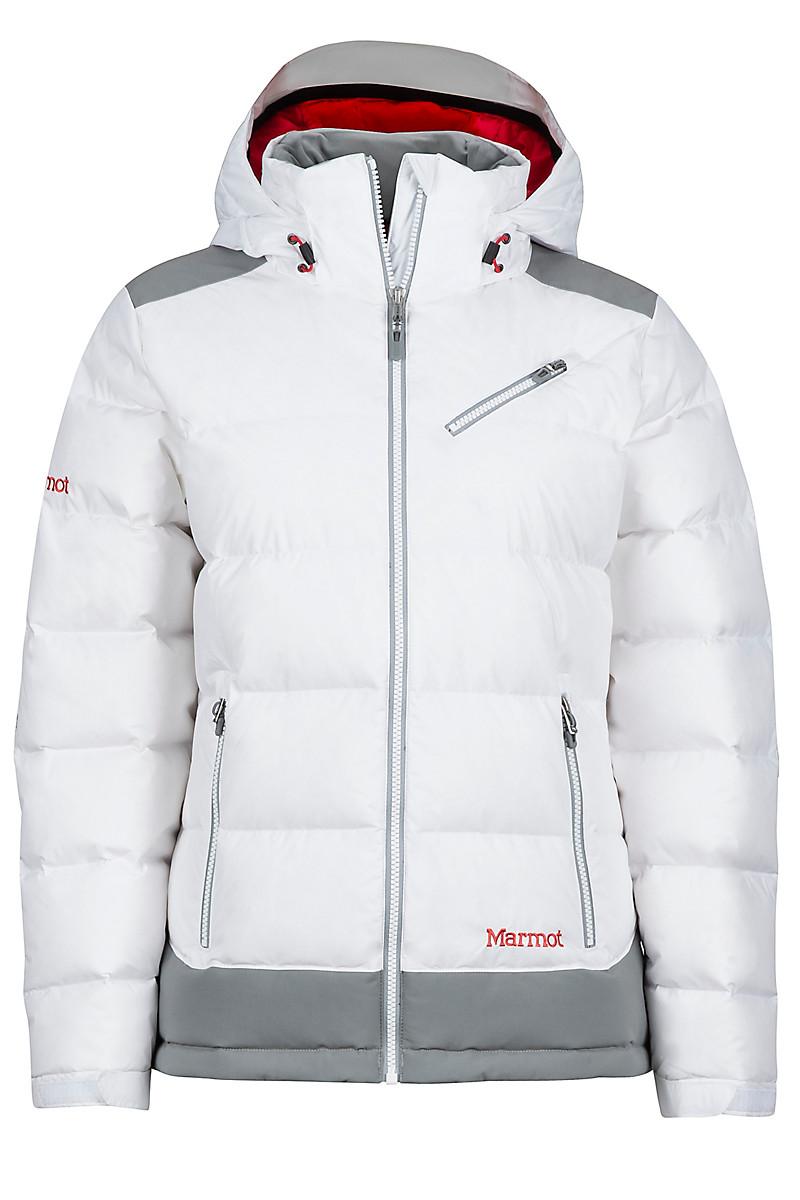 Wm's Sling Shot Jacket, White/Grey Storm, large