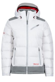 Wm's Sling Shot Jacket, White/Grey Storm, medium