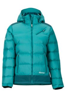 Wm's Sling Shot Jacket, Patina Green/Deep Teal, medium