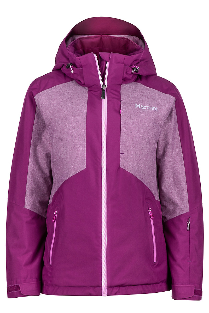 Wm's Repose Featherless Jacket, Deep Plum, large