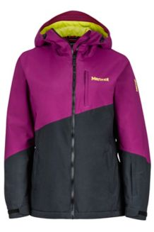 Wm's Rumba Jacket, Deep Plum/Black, medium
