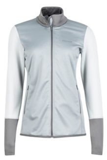 Wm's Thirona Jacket, Grey Storm/Bright Steel, medium