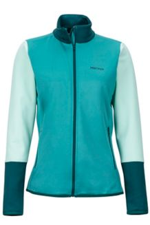 Wm's Thirona Jacket, Patina Green/Deep Teal, medium