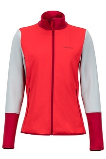 Wm's Thirona Jacket, Scarlet Red/Sienna Red, medium