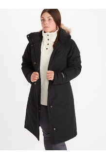 Women's Chelsea Coat, Black, medium