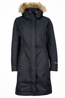 Wm's Chelsea Coat, Black, medium