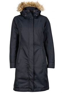 Women's Chelsea Coat, Jet Black, medium