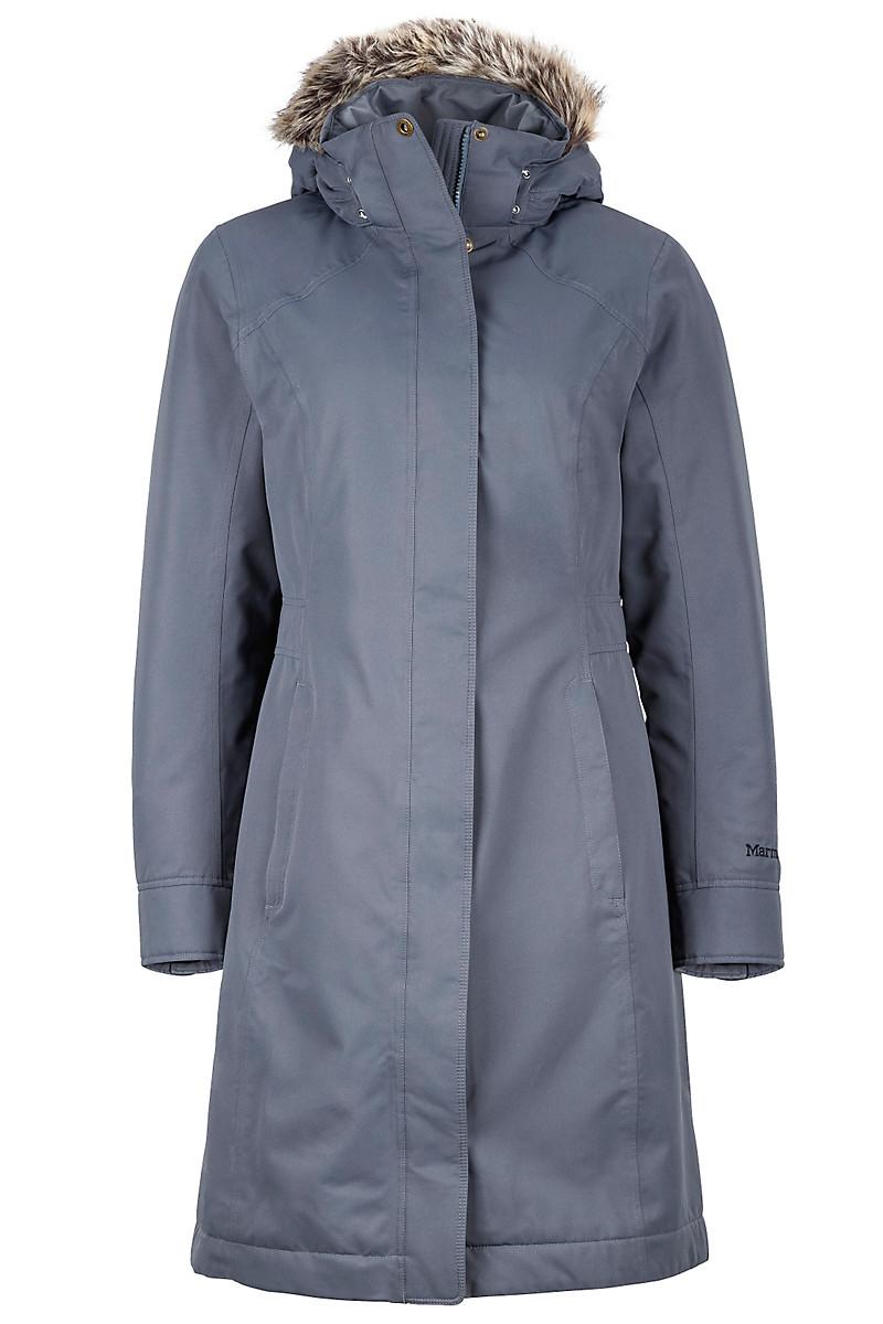 Wm's Chelsea Coat, Steel Onyx, large